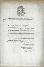 1817 Nomination dans le Diocèse de Limoges