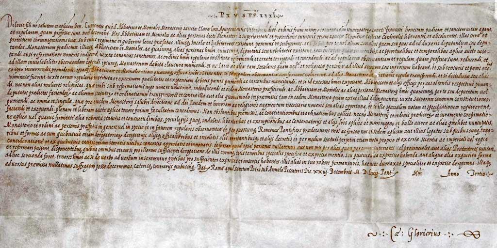 Bref_Pie_IV_clarisses_d'Acquapendente(Viterbe)_1562.jpg
